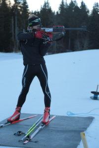 moniteur ski de fond biathlon Chartreuse col de Porte